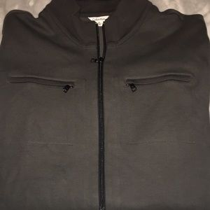 Calvin Klein size XL full zip sweater with pockets
